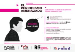 Jornada sobre periodismo y libertad de expresión