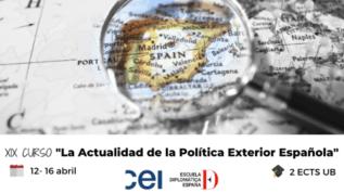Curso de actualidad de la política exterior española