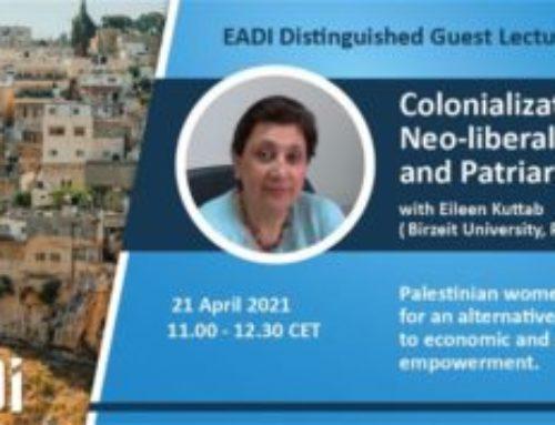 Conferencia sobre colonización, neo-liberalización y patriarcado