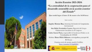 Diálogo sobre desarrollo sostenible en acción exterior española