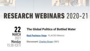 Seminario sobre la política global del agua embotellada