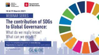 Seminarios virtuales sobre ODS y gobernanza global