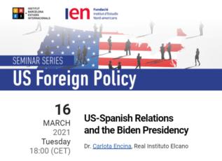 Seminario sobre las relaciones EE.UU-España en la presidencia de Biden