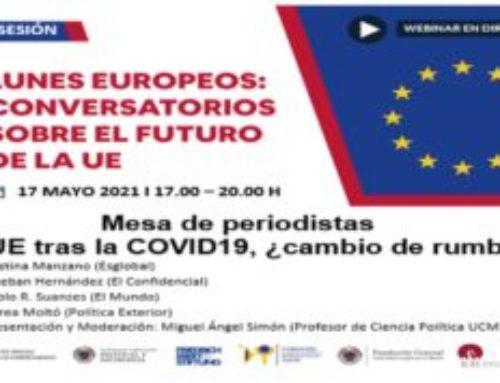 Sesión sobre la UE en pandemia, ¿cambio de rumbo?