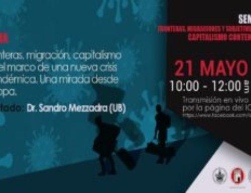 Seminario sobre migraciones, capitalismo y crisis pandémica