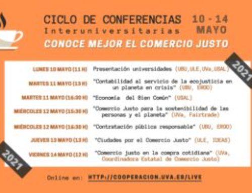 Ciclo de conferencias por la Semana del Comercio Justo