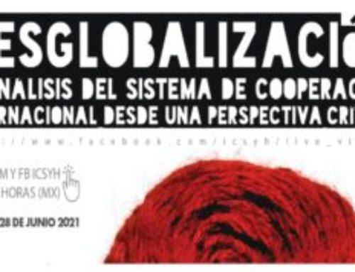 Presentación de libro desglobalización y sistema de cooperación