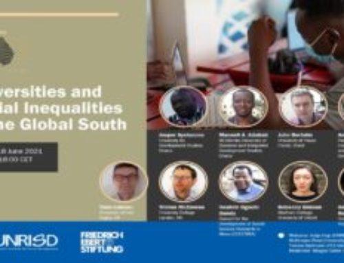 Seminario sobre Universidad y desigualdades sociales en el Sur