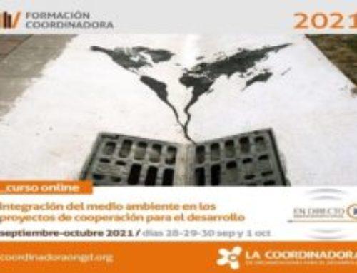 Curso sobre medio ambiente y proyectos de cooperación