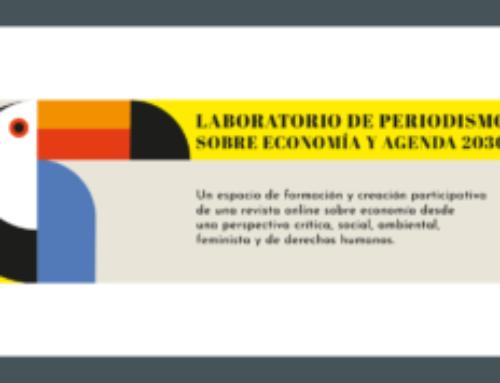 Laboratorio de periodismo sobre economía y Agenda 2030