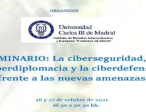 Seminario sobre ciberdefensa y ciberdiplomacia